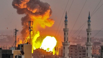 Israel Executes Airstrikes After Soldiers Come Under Fire