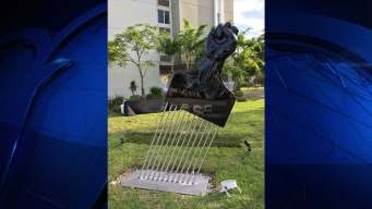 Afro Pick Sculpture Unveiled in the Heart of Opa-Locka