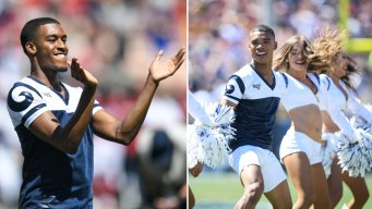 Meet the Male Cheerleaders Set to Make Super Bowl History