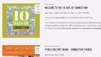 10 Days of Connection Starts This Week in South Florida