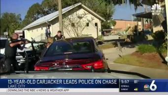 13-Year-Old Carjacker Leads Police on Chase in Florida