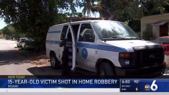 15-year-old Victim Shot in Home Robbery