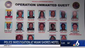 16 Arrested in Operation at Miami Shores Motel