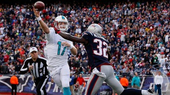 Tannehill's Improvement Gives Fins Hope