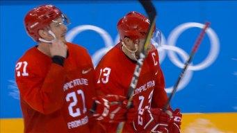 Highlights From OAR's 6-1 Quarterfinal Win Vs. Norway
