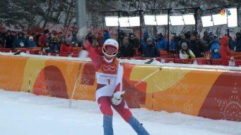 Michelle Gisin Beats Mikaela Shiffrin for Combined Gold