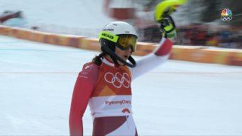 Wendy Holdener Earns Combined Bronze