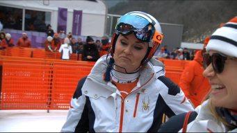 Lindsey Vonn Jokes About Never Having to Race Slalom Again