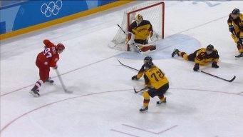 Nikita Gusev Nets Two Goals in OAR's 4-3 Win Over Germany