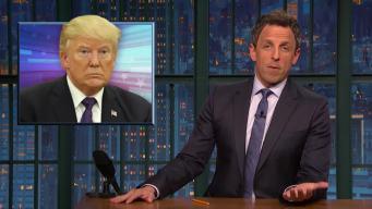 'Late Night': A Closer Look at Roy Moore; Trump and Putin