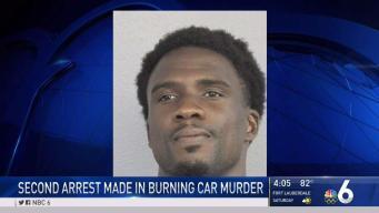 2nd Arrest Made in Murder of Man Found in Burning Car