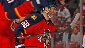 Jagr Picks Up 731st Career Goal, Panthers Top Capitals 4-1