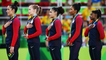 Gabby Douglas Responds to US Anthem Controversy