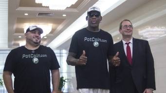 Former NBAer Dennis Rodman Is Back in North Korea