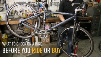 How to Check Over Your Bike Before You Ride or Buy