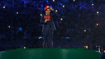 Japan PM as Super Mario Ignites Social Media