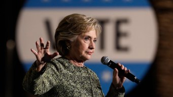 Clinton Shifts Message, Eyes Congressional Takeover