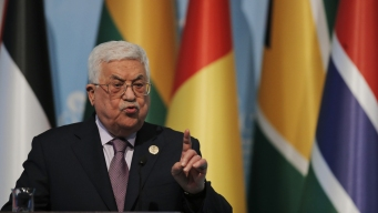 Palestinian Leader Rejects US Role in Peace Process