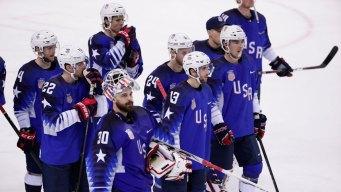 Czechs Eliminate USA in Shootout in Hockey Quarterfinals