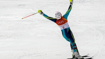 Swedish Skier Wins Slalom Gold After Favorites Make Mistakes