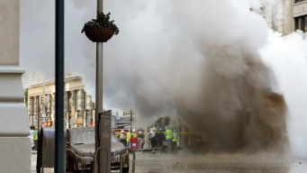Asbestos Check at NYC Buildings Near Steam Pipe Blast Could Take Days