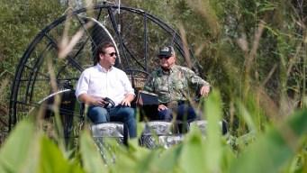 Gov. Hopeful DeSantis Tours Everglades, Talks Environment