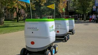 Snacks on Wheels: PepsiCo Tests Self-Driving Robot Delivery