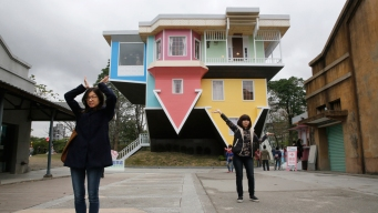 Architects Build Upside-Down House in Taiwan