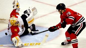 Blackhawks Beat Panthers 3-2
