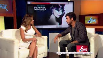 "Actor Talks Intense Role On ""Mariposa Del Barrio"""