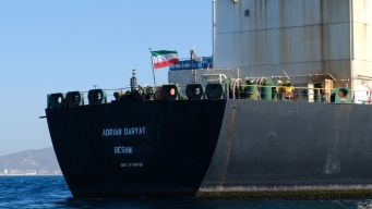 Iran Oil Tanker Pursued by US Turns Off Tracker Near Syria