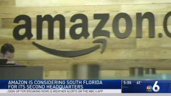 Amazon Considering South Florida for 2nd Headquarters