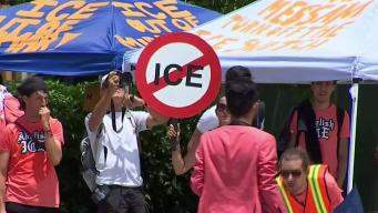 Anti-ICE Protesters Out of Jail