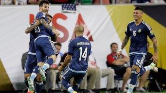 Argentina Trounces US 4-0, Into Copa America Final