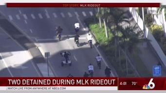 Arrests Made in Miami-Dade as MLK Rideout Gets Underway