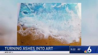 Artist Turning Human Ashes Into Art