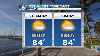 Forecast: Breezy, Warm Saturday