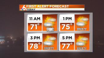 Forecast: Cooler, Breezy Saturday