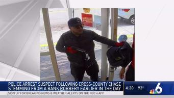 Miami-Dade Bank Robbery Suspect Arrested After Chase, Crash