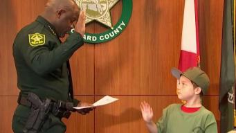 Boy Becomes BSO Deputy for A Day