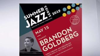 Brandon Goldberg Kicks Off Faena's Summer Jazz Series