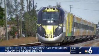 Brightline Officials Stress Safety After Recent Deaths
