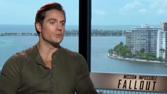 Catching Up With Mission Impossible's Henry Cavill
