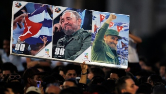 Huge Crowds Gather For Memorial Service Honoring Castro