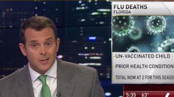Child Dies in Florida From Flu