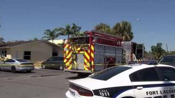 Children Rescued in House Fire