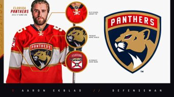Florida Panthers Unveil New Logo, Uniforms