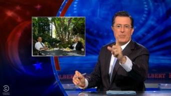 Colbert Saves Couple's Wedding After Shutdown