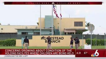 Concerns Over Child Migrant Centers in South Florida