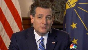 Cruz Defends Position on 'Bathroom Bills'